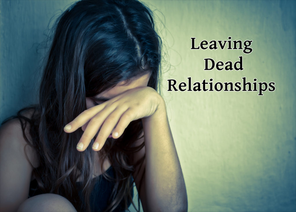 Leaving dead relationships